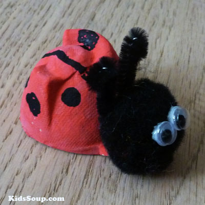 preschool ladybug craft and activity