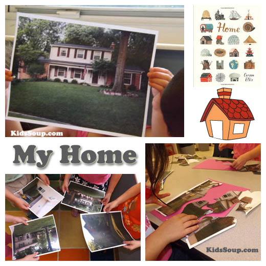 Home Is Where the Heart is All About Me Lesson Plan KidsSoup