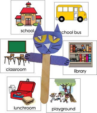 Pete the Cat: Rockin' in My School Shoes Story Pictures