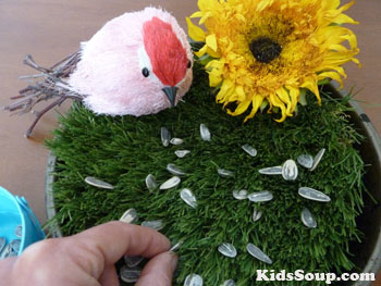 Birds fine motor skills activity for preschool