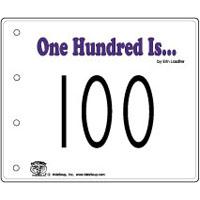 100 is... emergent reader and activity for kindergarten and preschool