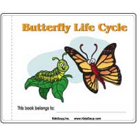 butterfly life cycle booklet and activities for preschool and kindergarten