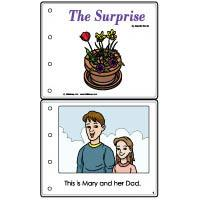 Mother's Day Emergent Reader Booklet color and b/w