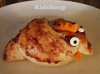 Little Red Hen bread snack for preschool and kindergarten