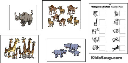 Going On A Safari Crafts Activities Games And Emergent Readers