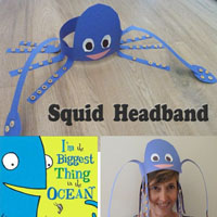 Preschool Kindergarten Octopus Squid Craft and Activity