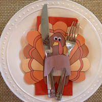 Thanksgiving Table Decoration Craft
