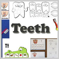 Preschool Kindergarten Dental Health Activities and Lessons