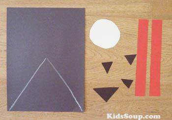 V For Vampire Halloween Preschool Craft And Song Kidssoup