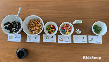 Witch Brew Snack Number Sense Activity Preschool