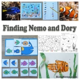 Spooky bones and skeletons activities craft and song for Finding dory crafts for preschoolers