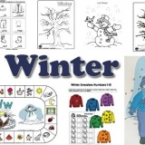 Winter activities, crafts, and games for preschool and kindergarten