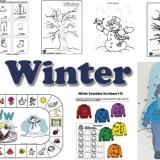 Winter activities, crafts, and games for preschool and kindergarten