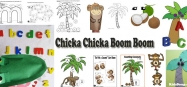Chicka Chicka Boom Boom letter activities and games for preschool