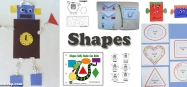 Preschool and Kindergarten Shapes Activities, Lessons, Crafts