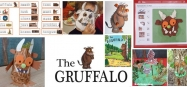 preschool gruffalo activities, lessons, and crafts
