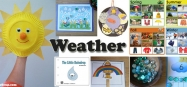 Weather Preschool and Kindergarten theme and lesson plans