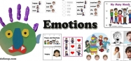 Emotions and Feelings preschool and kindergarten activities and crafts